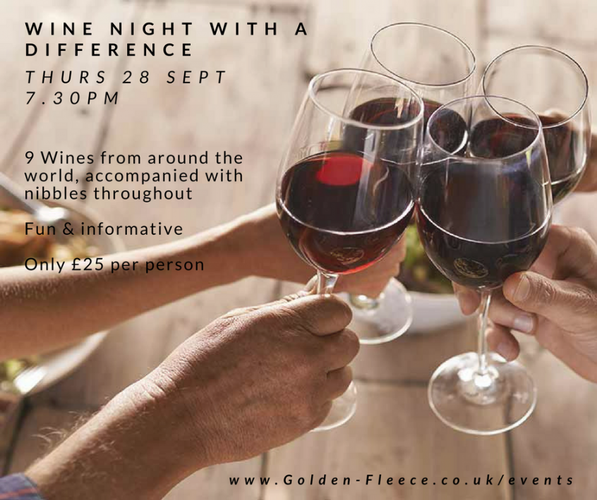wine night with a difference