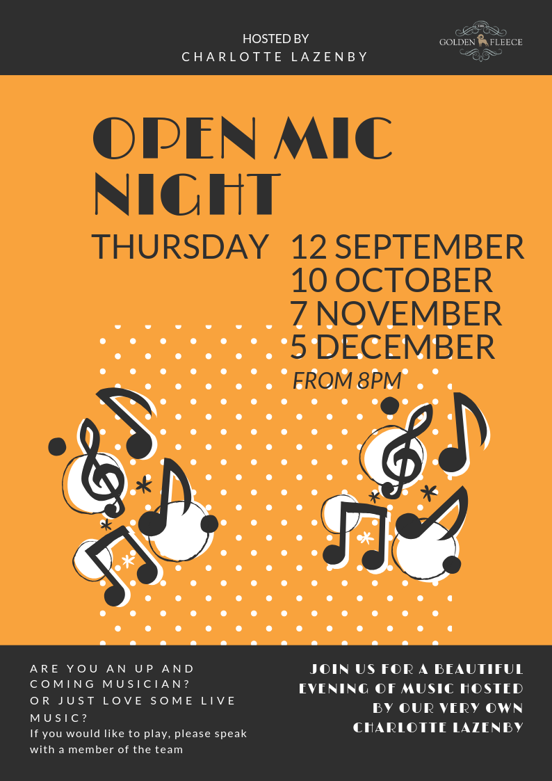 OPEN MIC NIGHT - A4 POSTER (1)