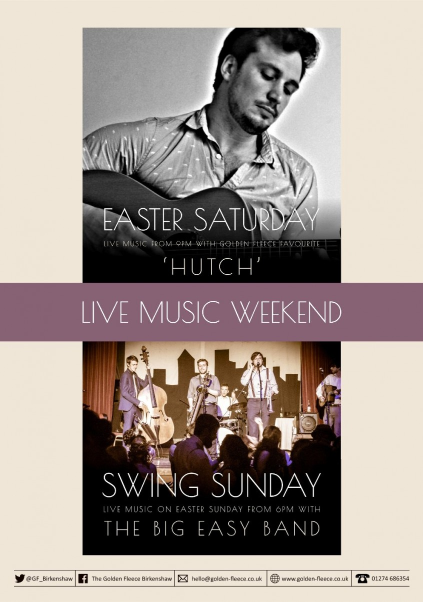 live music easter 2018