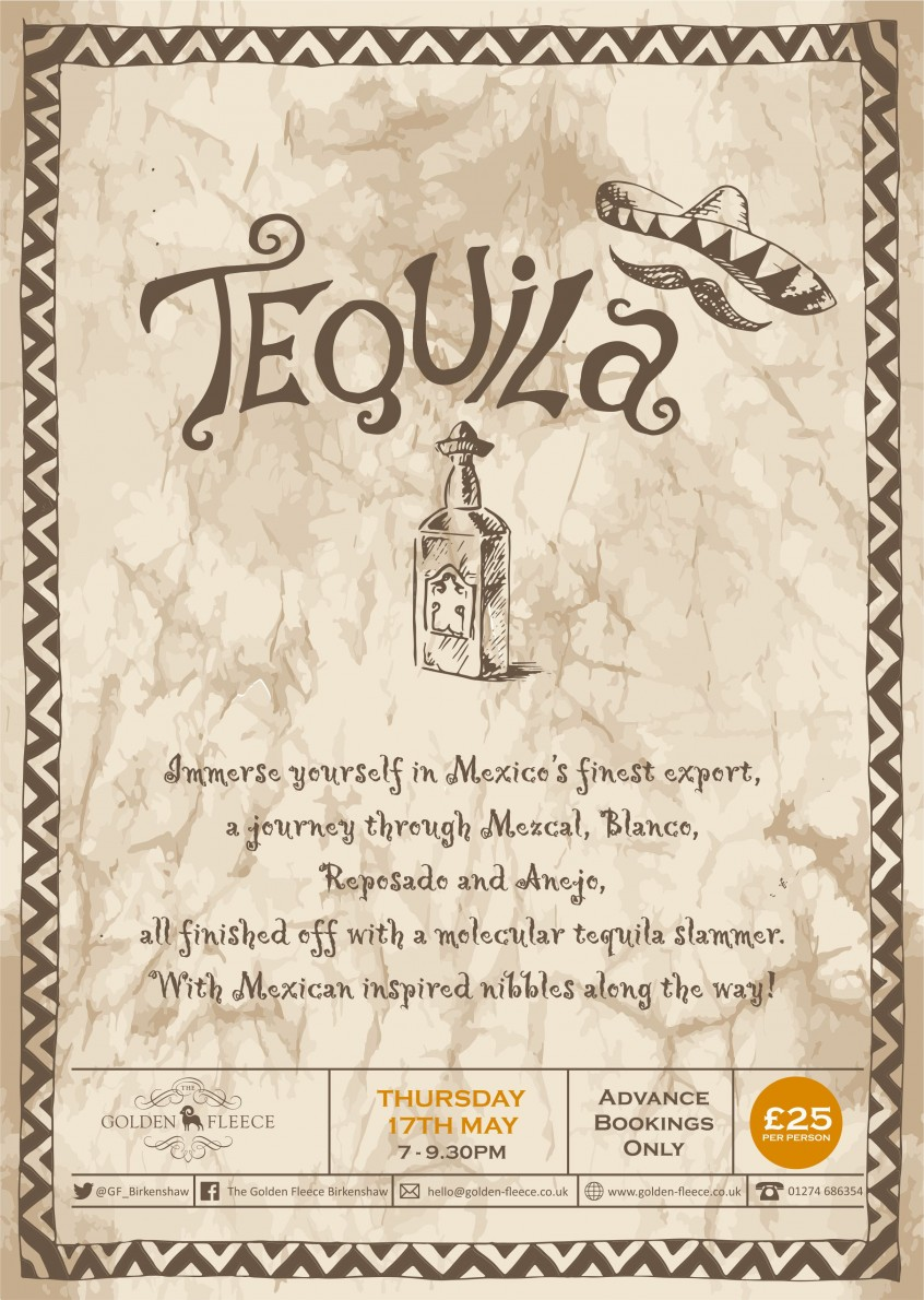 Tequila Night Poster