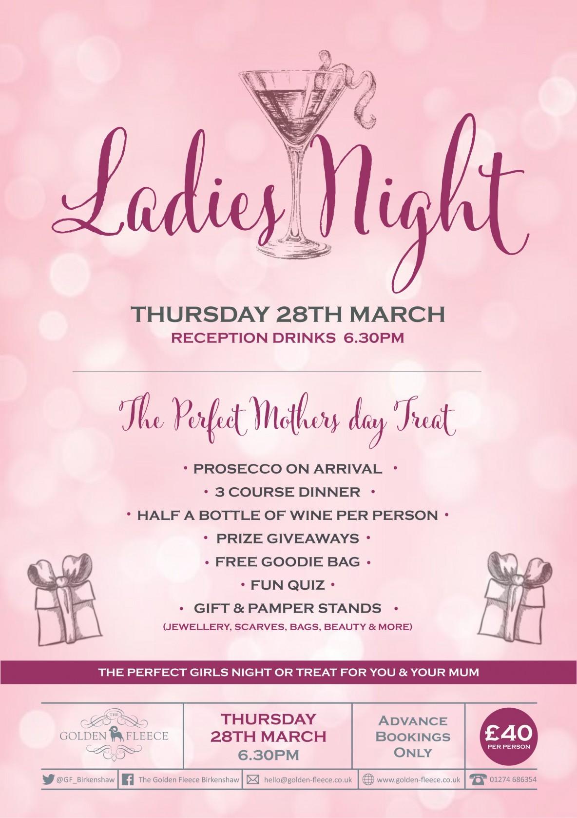 ladies night march 2019 singular A4 for fb