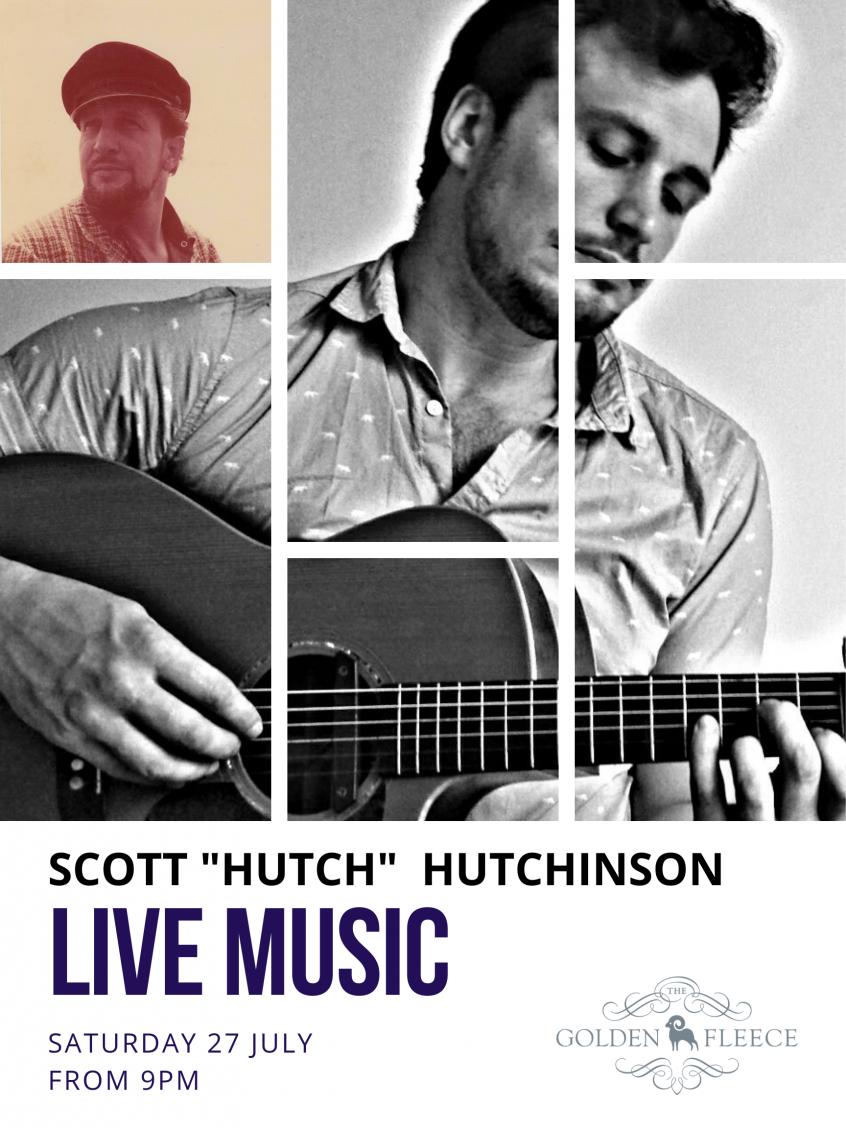 Live Music - hutch 27july2019 - a4