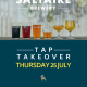 saltaire tap takeover - A4