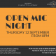 OPEN MIC NIGHT sept2019- FB