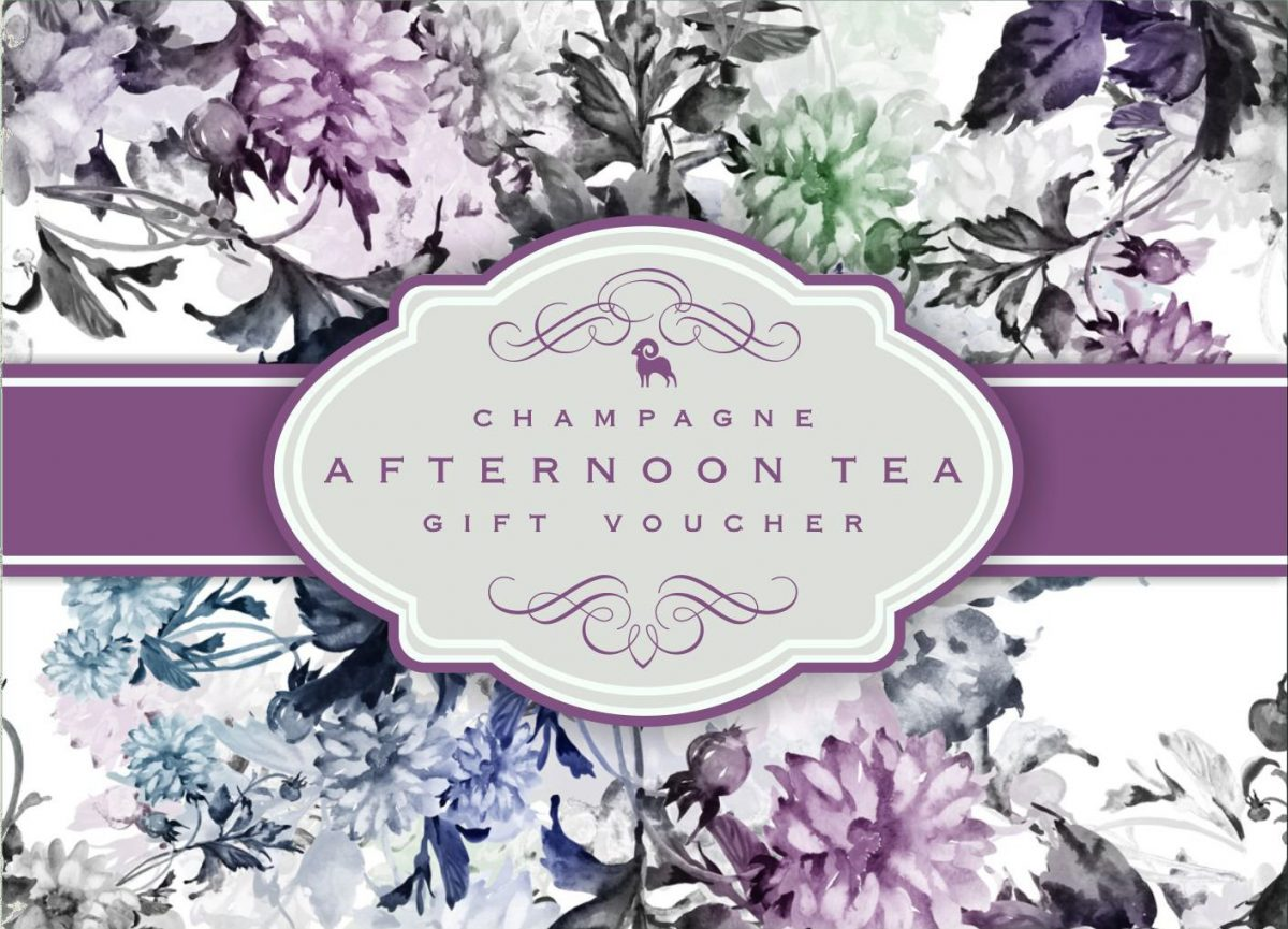 Champagne Afternoon Tea Gift Voucher