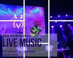 Live Music Zak Robinson