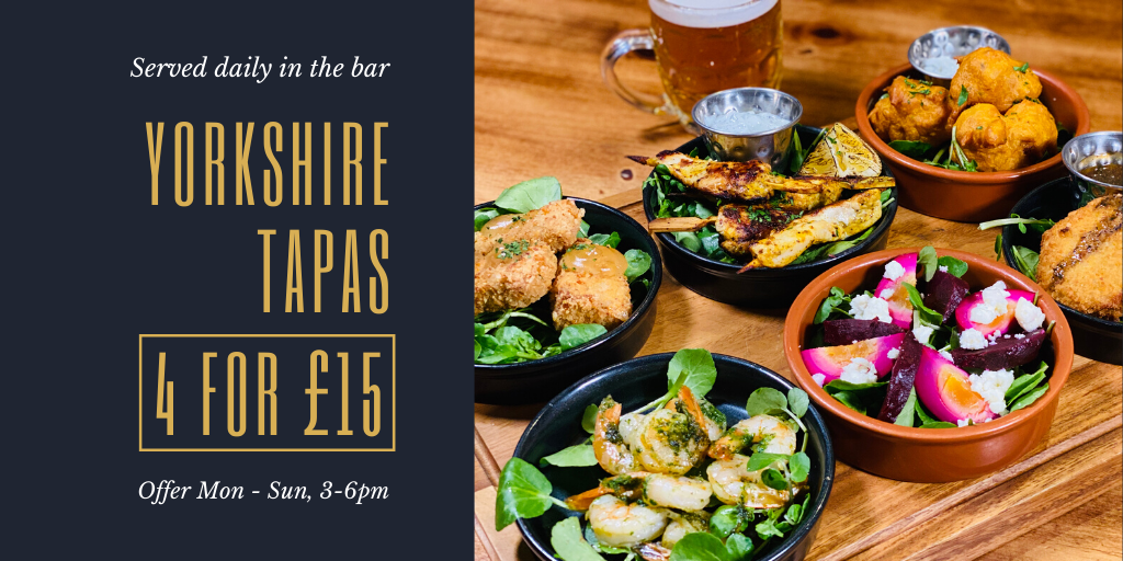 Yorkshire Tapas | The Golden Fleece
